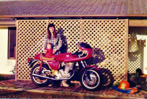 Deb and SF Laverda 750